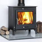 12kw OTAWA + CLEAN BURN defra approvedContemporary stove